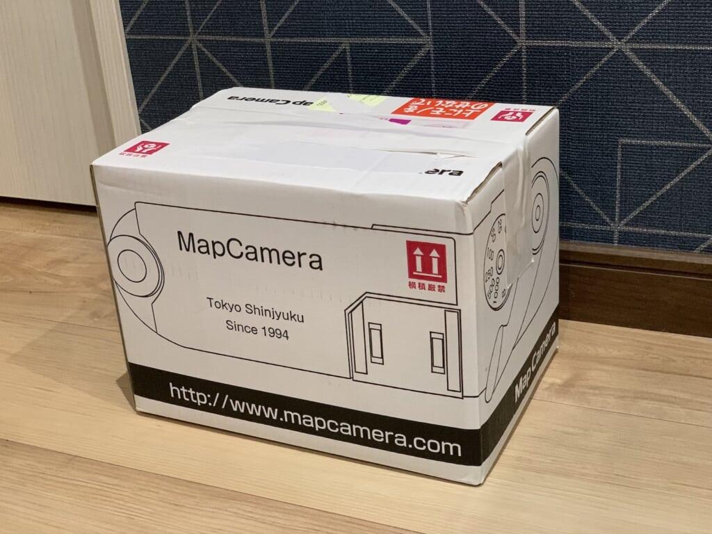 マップカメラの箱